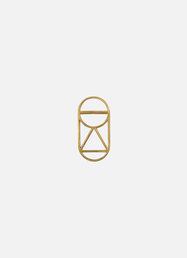 Fort Standard – Brass Bottle Opener – Crest 1