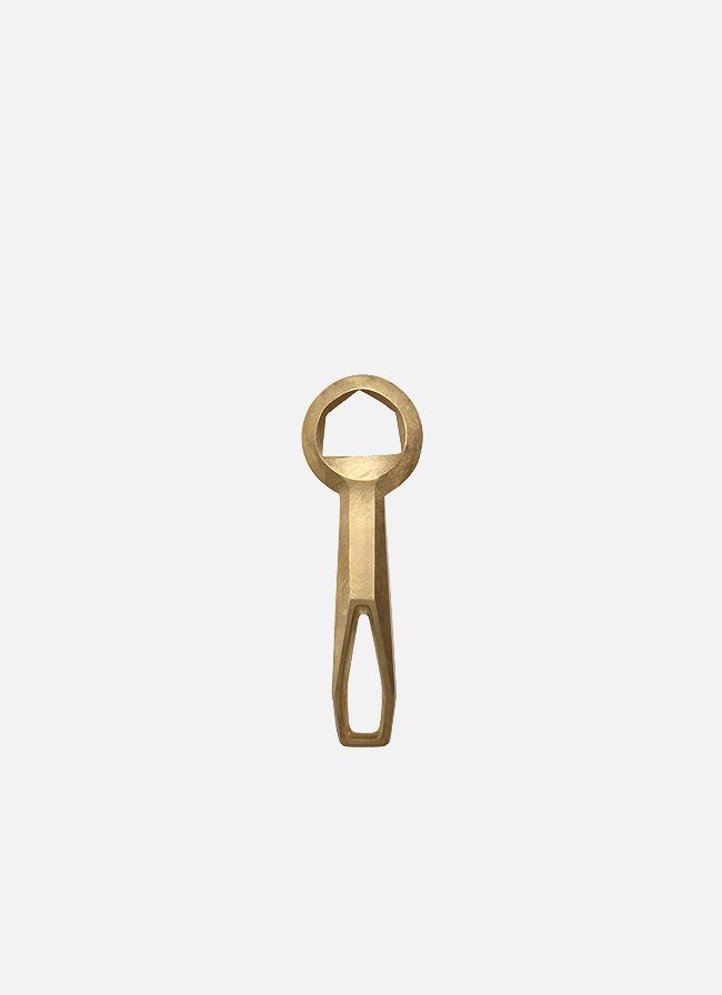 Fort Standard – Brass Bottle Opener – Crown 1