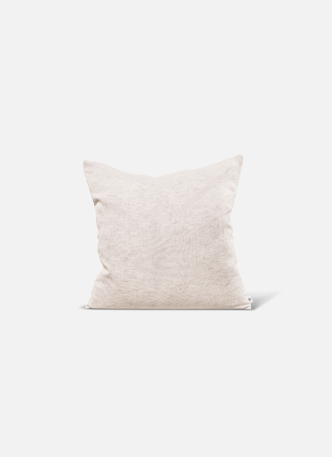 By Mölle - Linen cushion - almond - 50x50cm