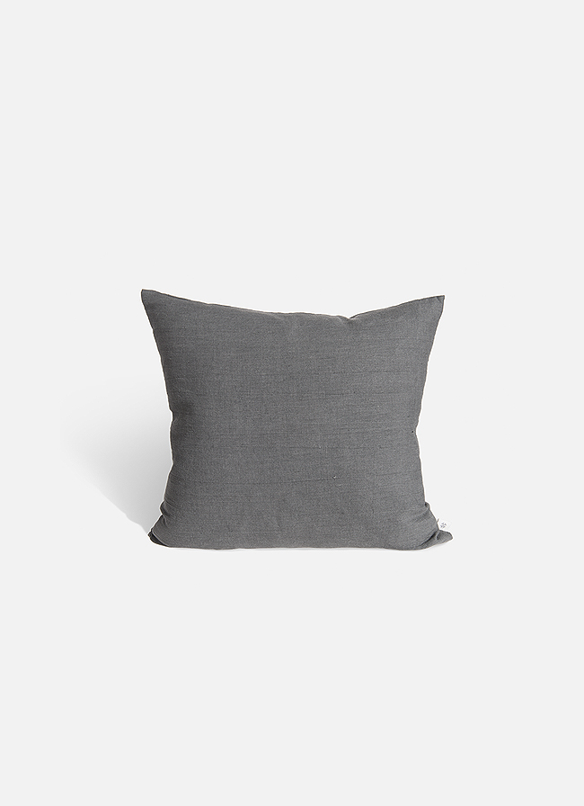 By Mölle - Linen cushion - pebble solid - 50x50cm