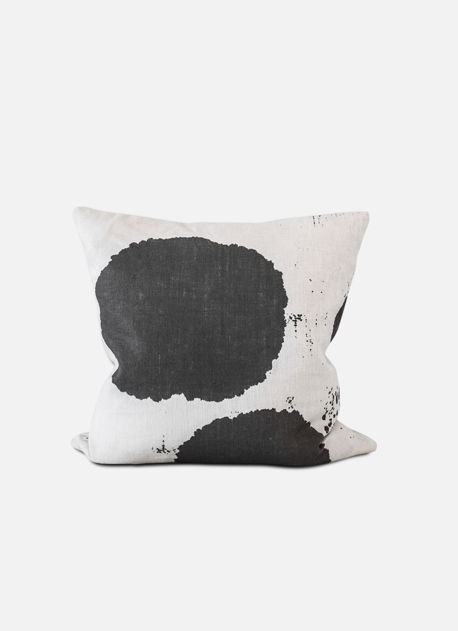 Linen Cushion BY CHANCE Ink Blot