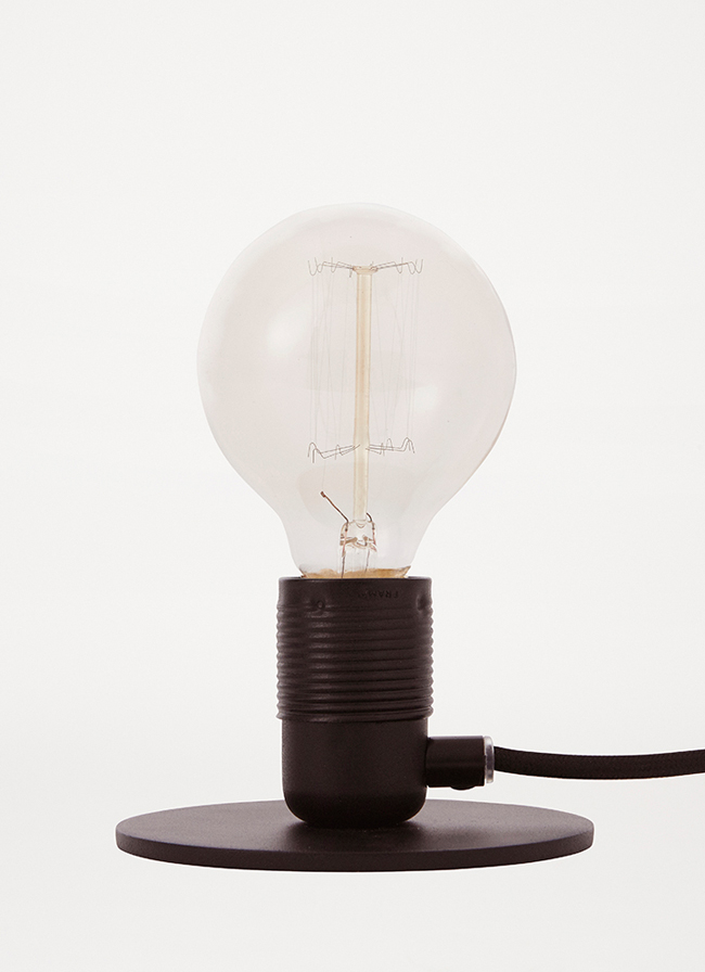Frama – E27 Table Light – Limited Edition – Black