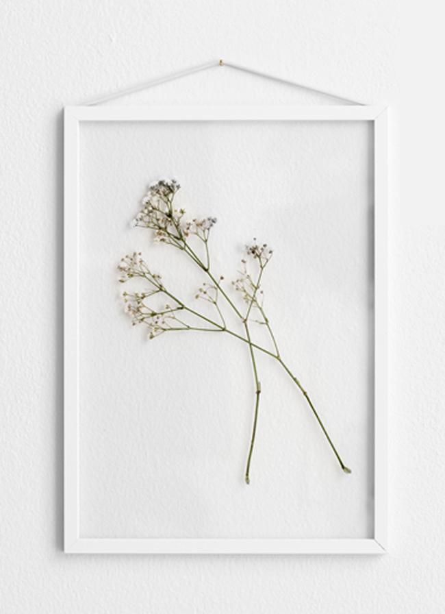 Moebe Frame – White Aluminium – Large