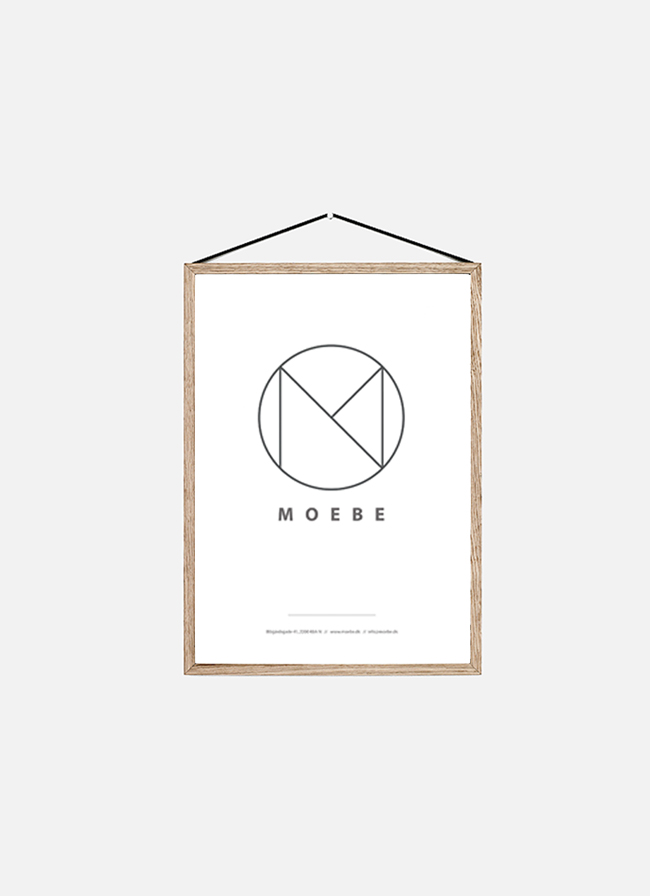 Moebe Frame – Oak – medium