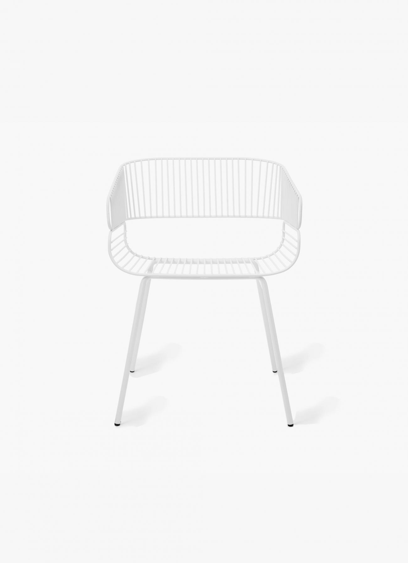 Petite Friture - Trame Chair - white