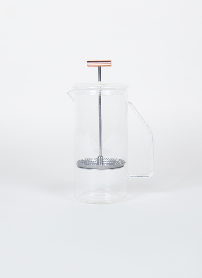 Yield Design - Glass French Press 850ml - Clear