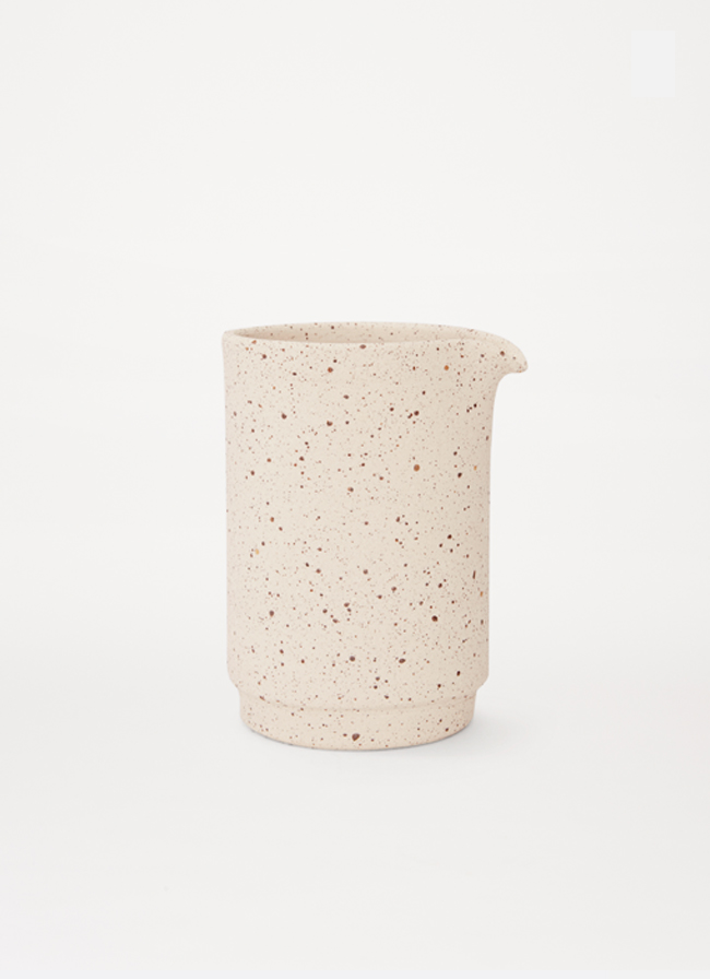 Frama - Aj Otto - large Jug - Special Edition - speckled raw white