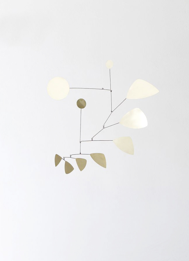 Lappalainen Mobile Leaves Brass - small