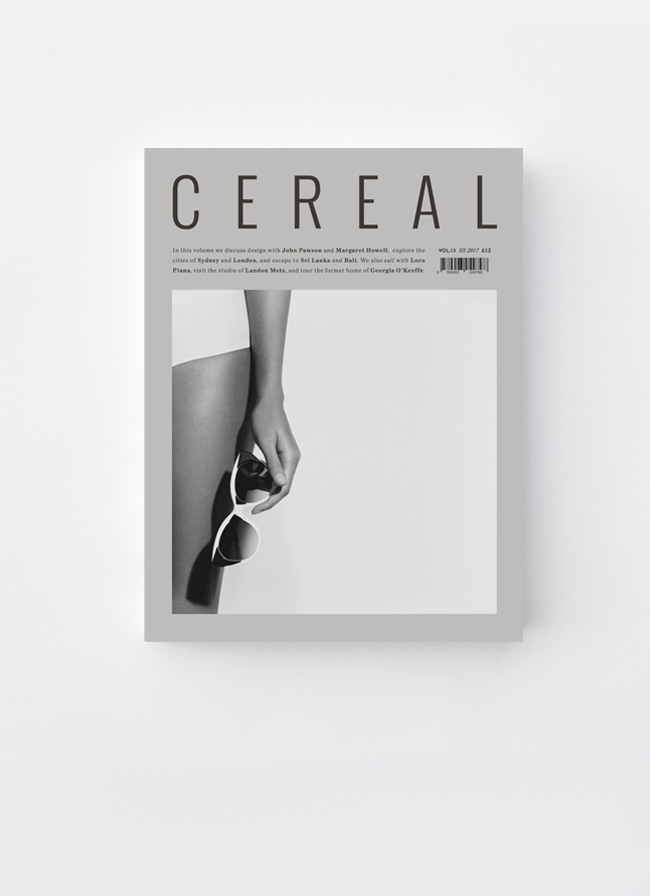VOLTA Cereal Magazine Volume 13