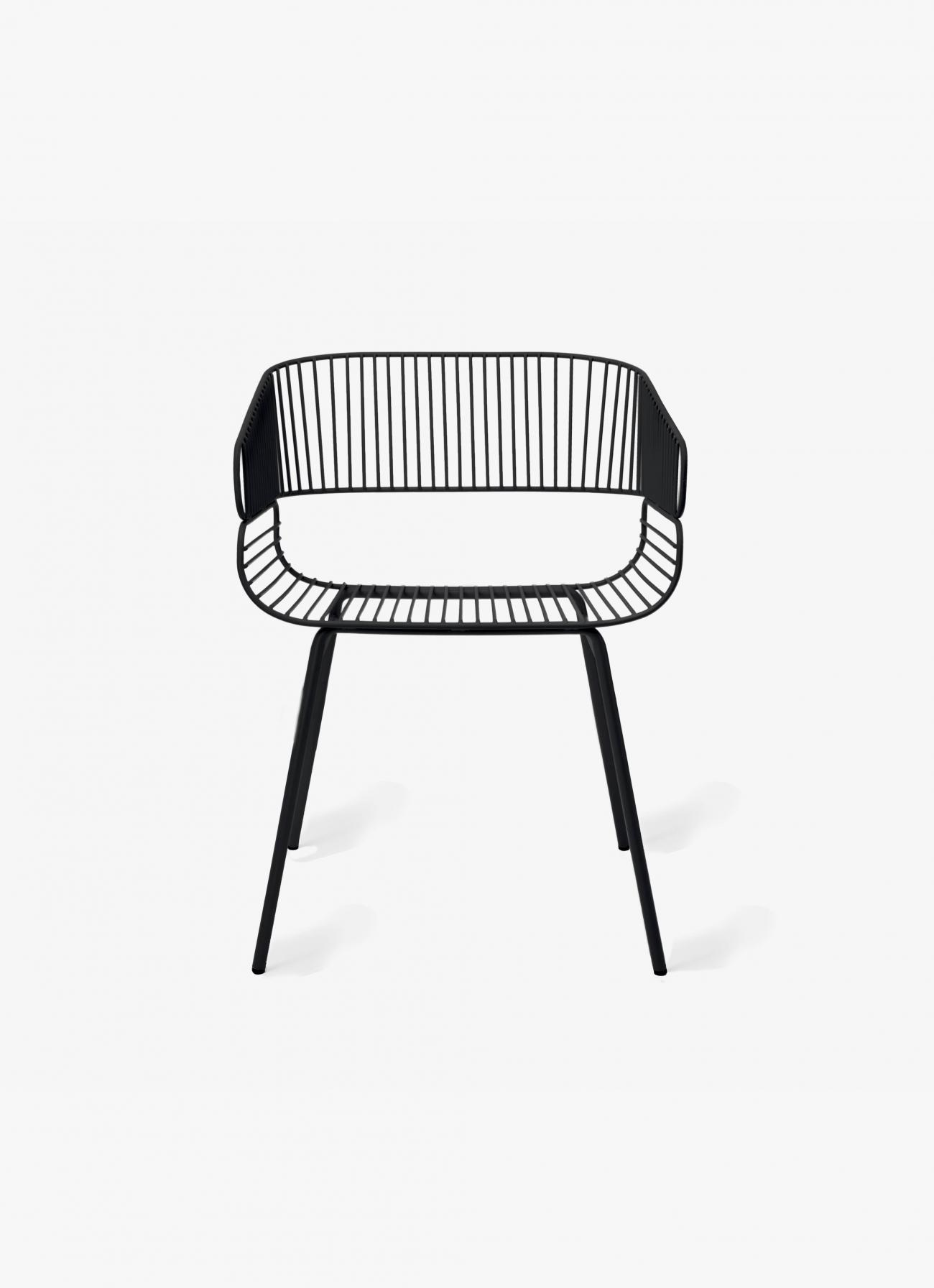 Petite Friture - Trame Chair - black