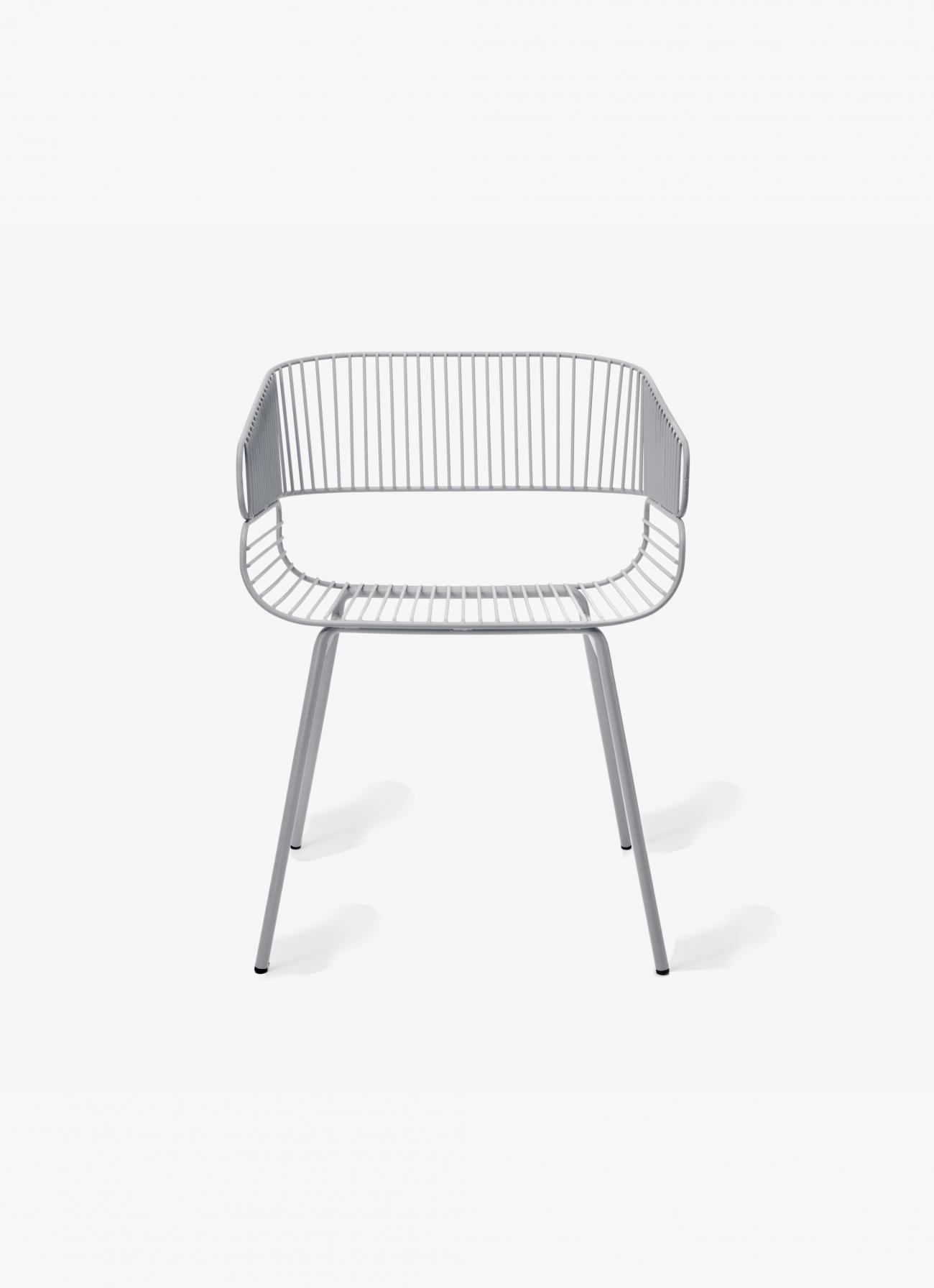 Petite Friture - Trame Chair - grey
