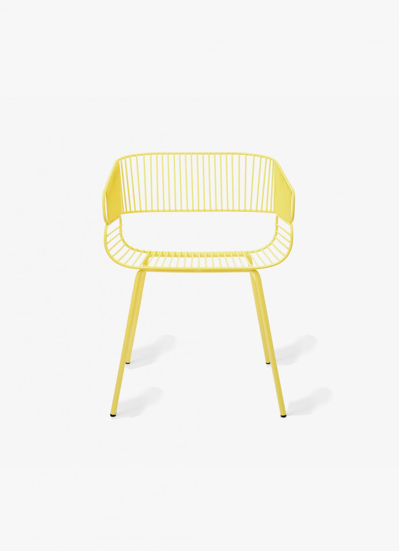 Petite Friture - Trame Chair - yellow