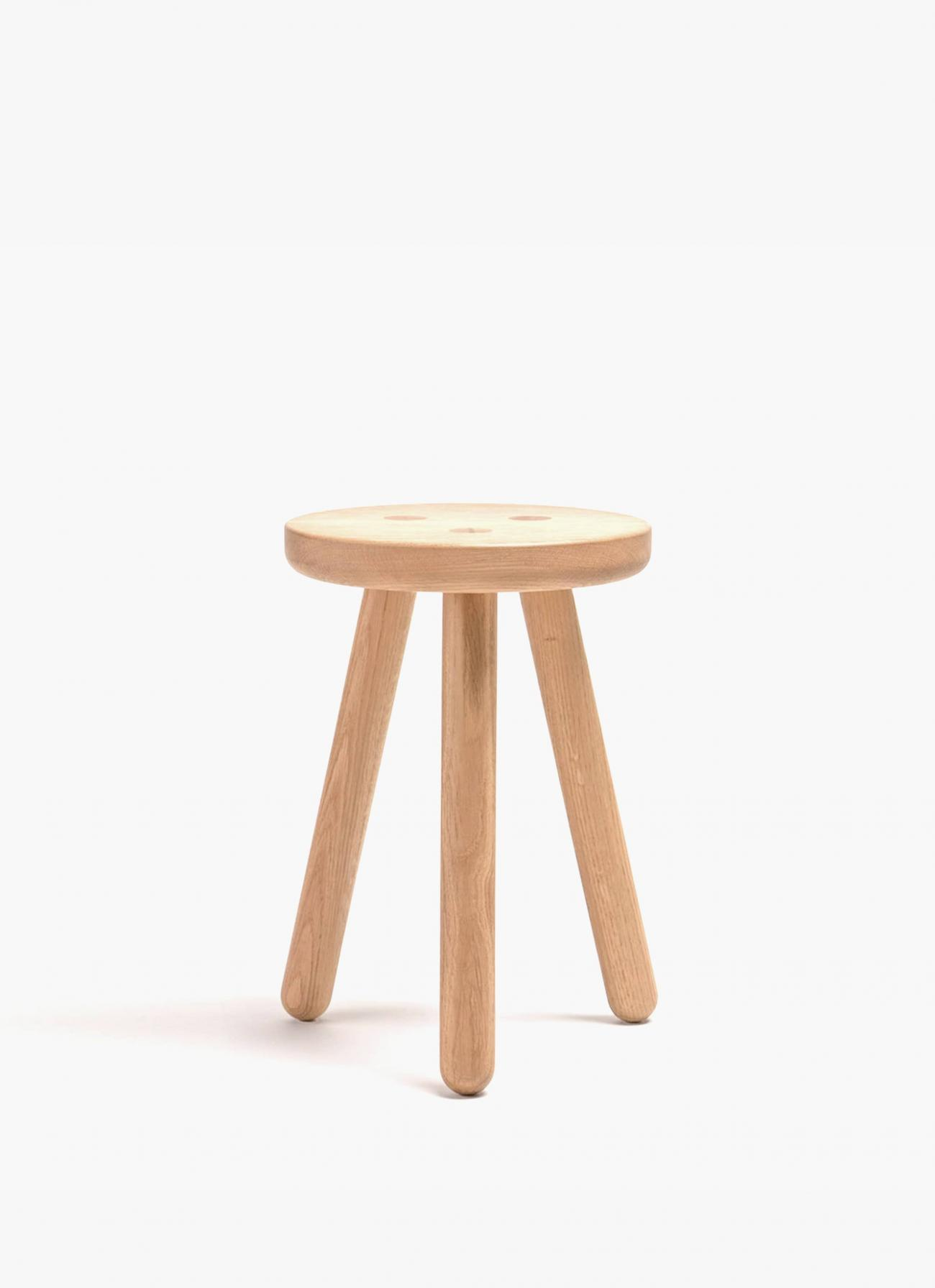 Another Country - Stool One - oak
